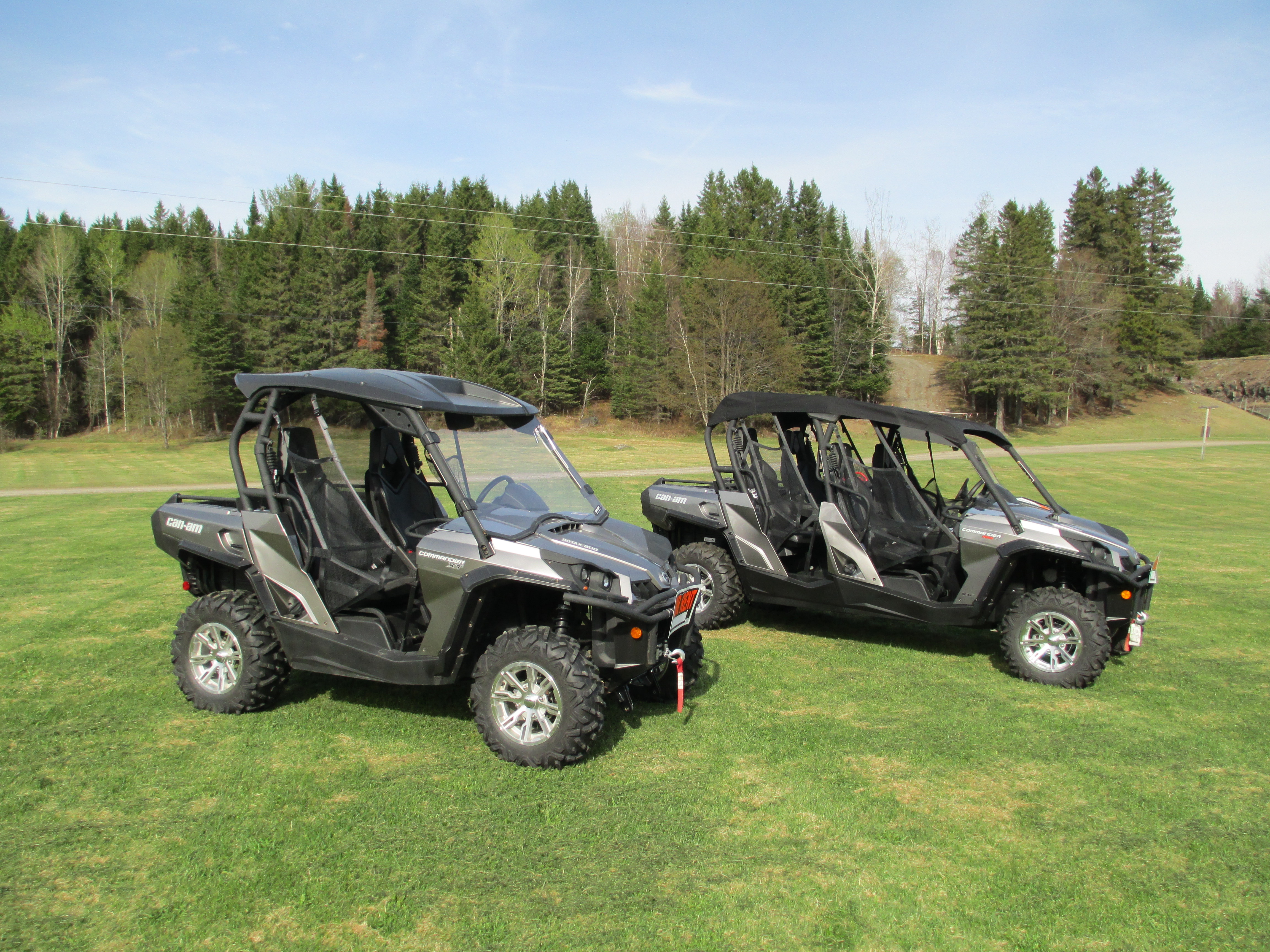 Commander XT 800 ATV Rental