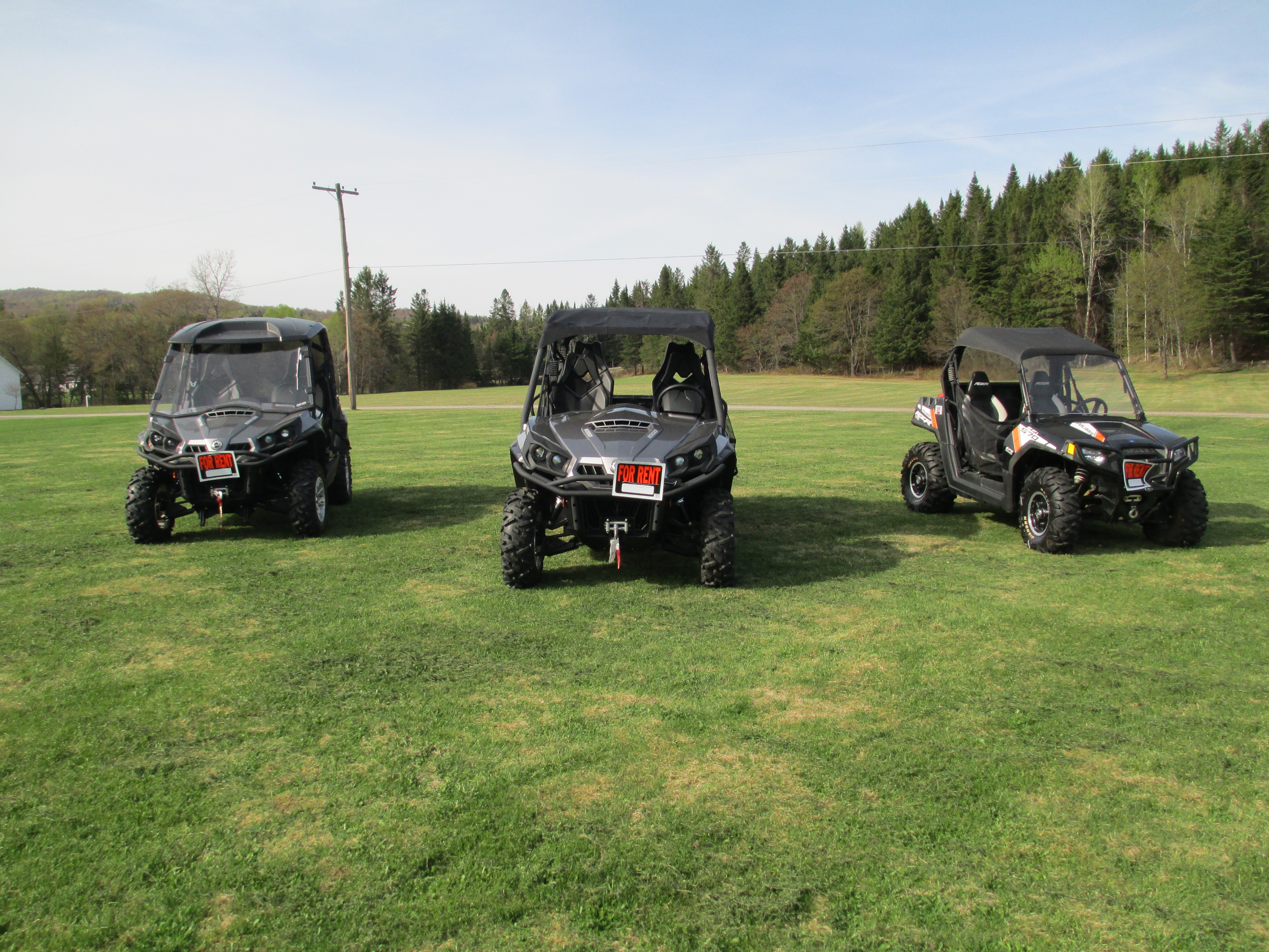 ATV Rentals in Pittsburg NH